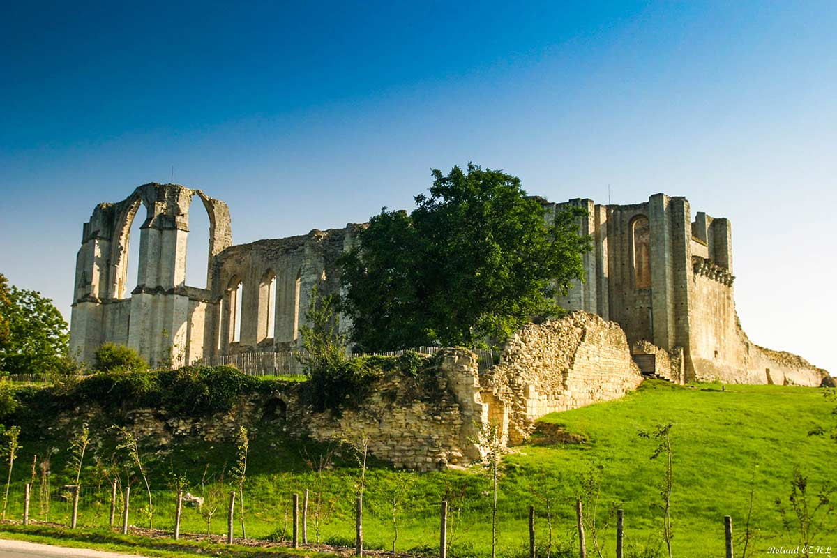 Marais Poitevin Abbaye de Maillezais