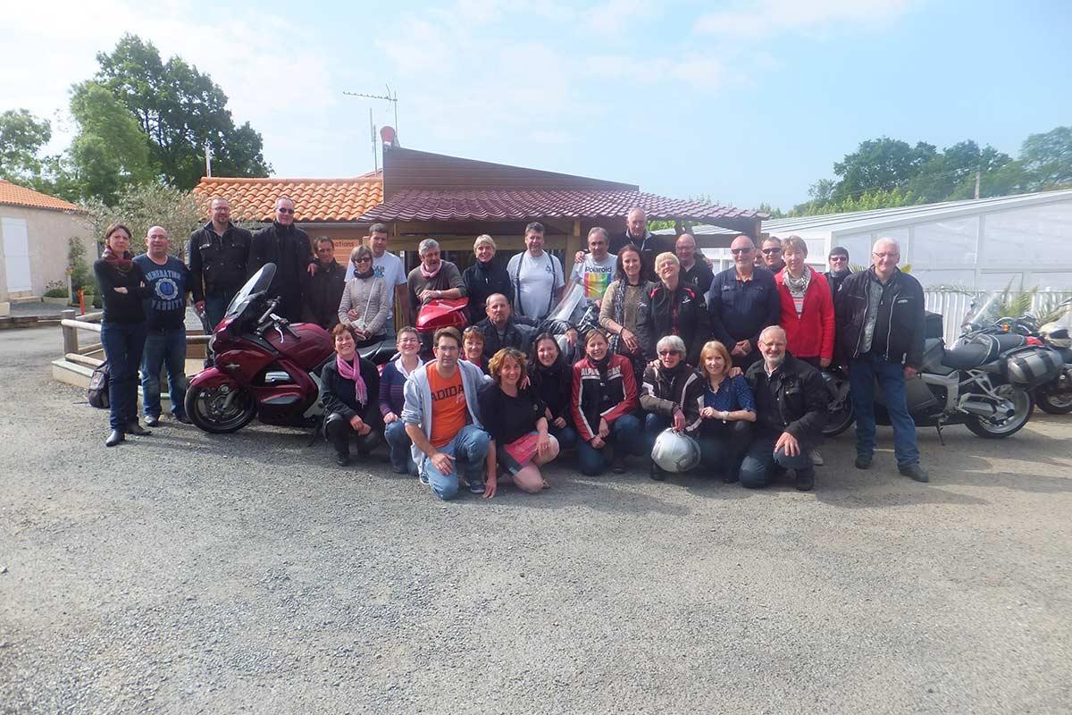 Accueil groupe Vendée