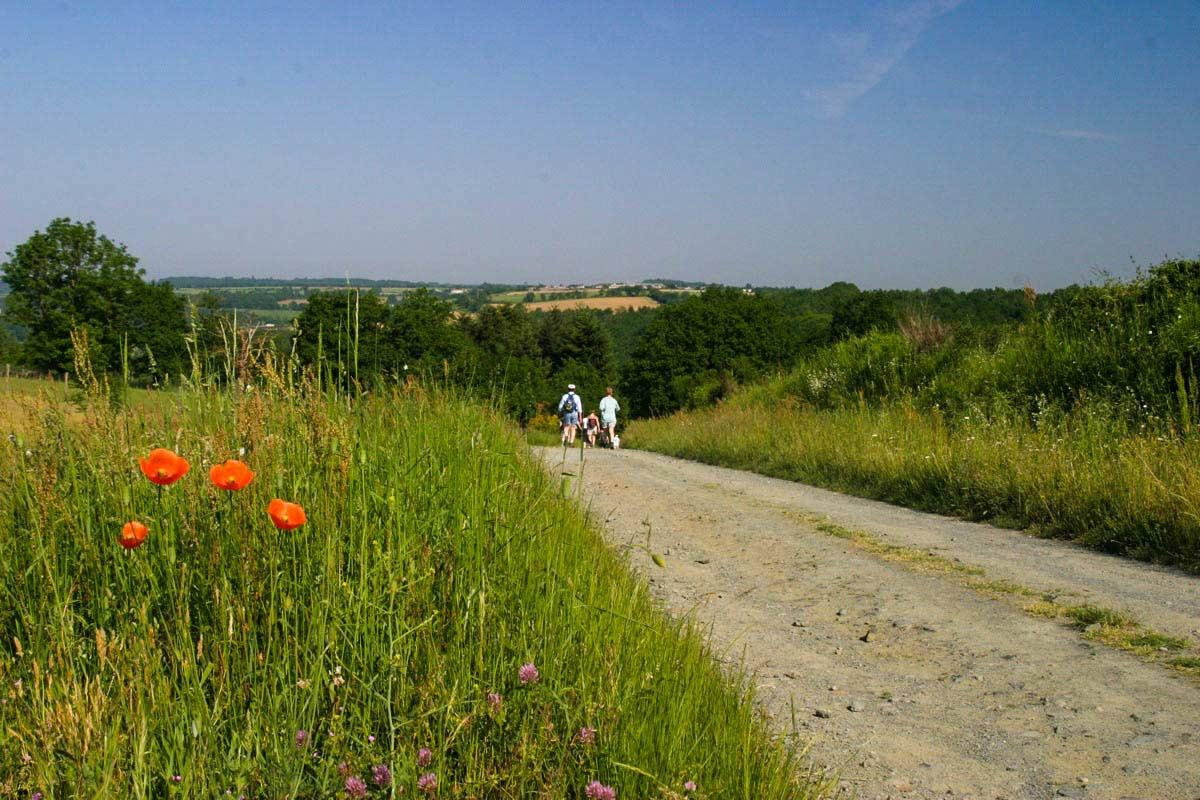 Randonnées et pistes cyclables de Mervent
