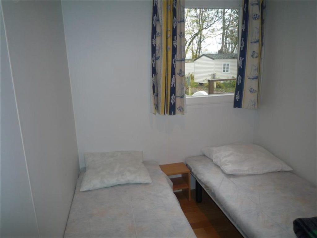 Location mobil-home 2 chambres pour 2/4 personnes