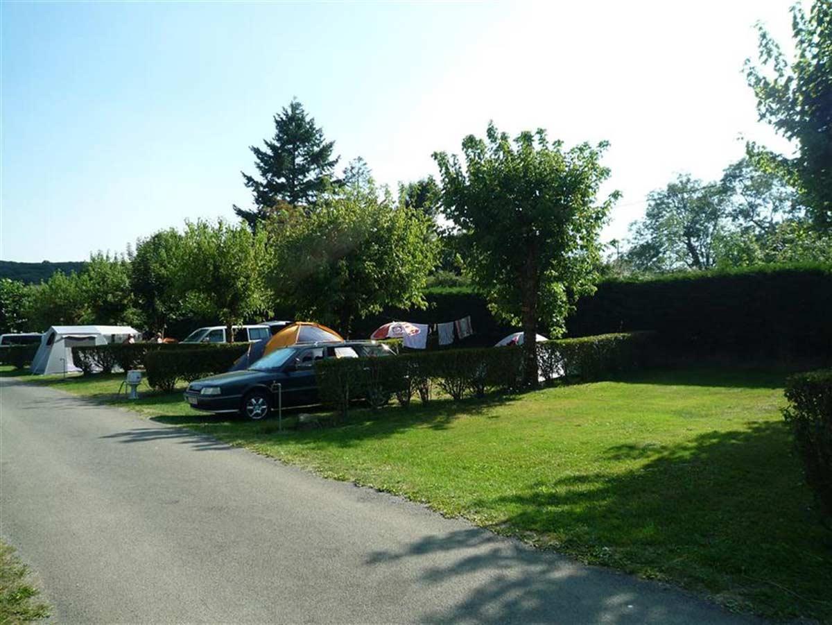Emplacements de camping La Joletière