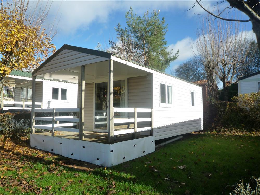Location mobil-home 2 chambres pour 4/6 personnes