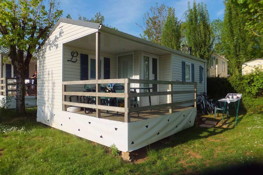 Location mobil-home 2 chambres pour 4 personnes
