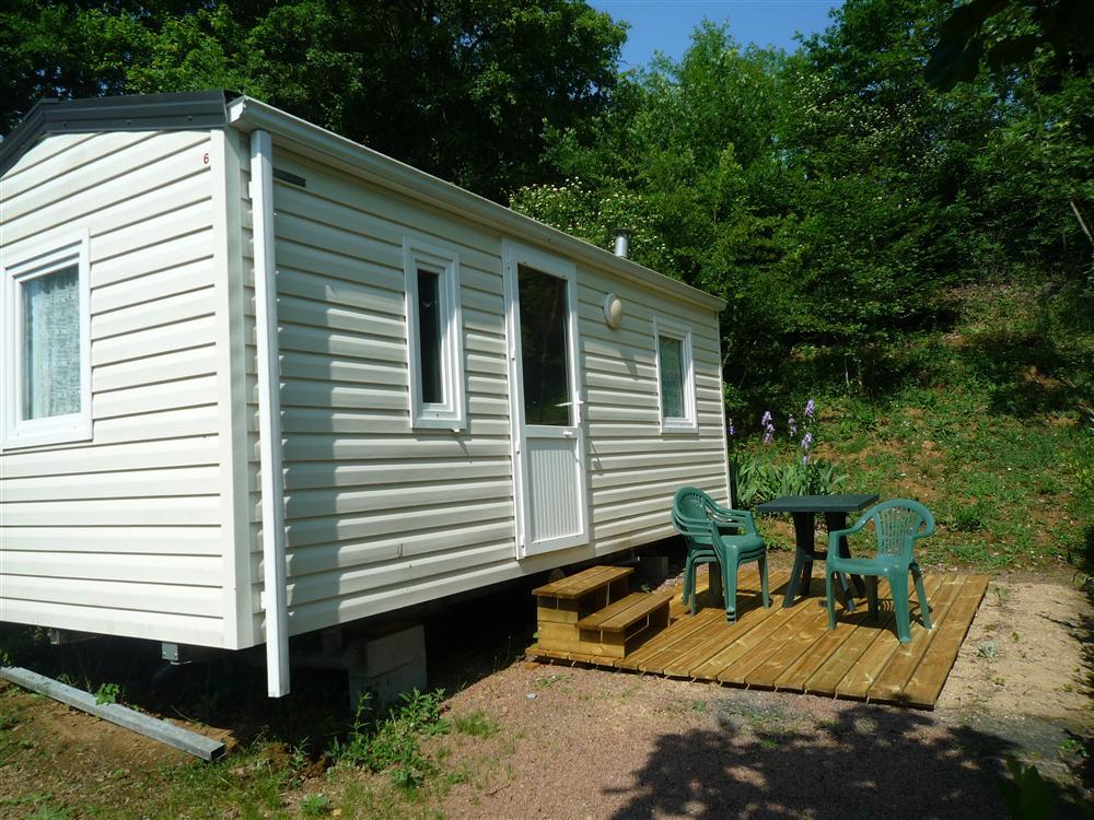 Location mobil-home 2 chambres pour 2/4 personnes près de Niort