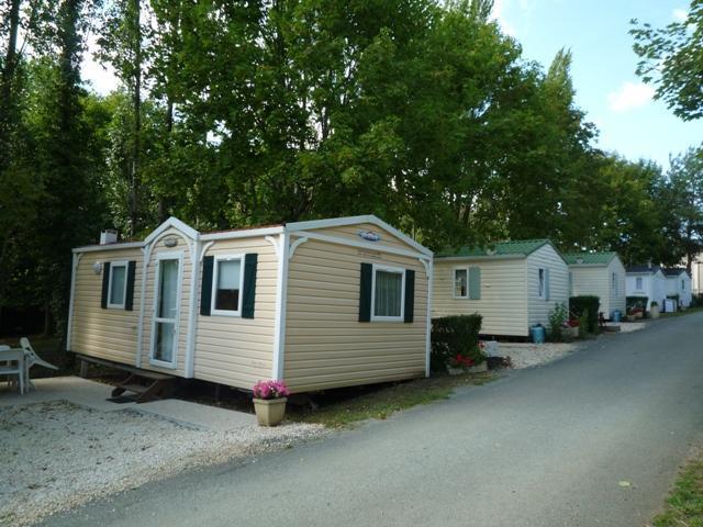 Location mobil-home 2 chambres pour 5/7 personnes près de Niort
