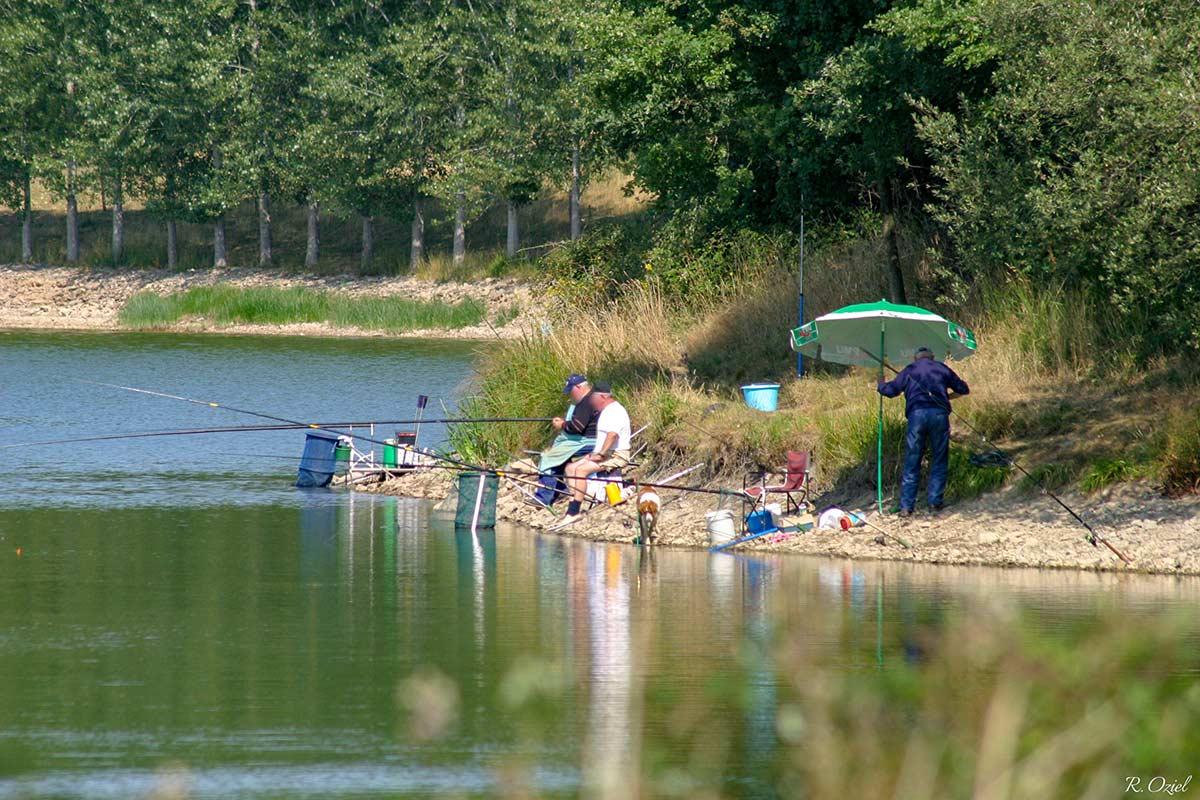 La pêche sur la Lac de Mervent 4