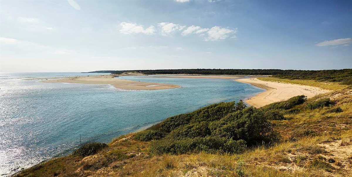 Les plages de Vendee : le Veillon