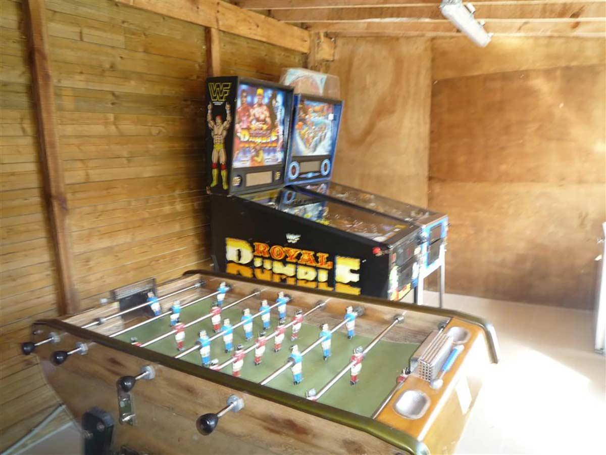 Salle de jeux du camping nature