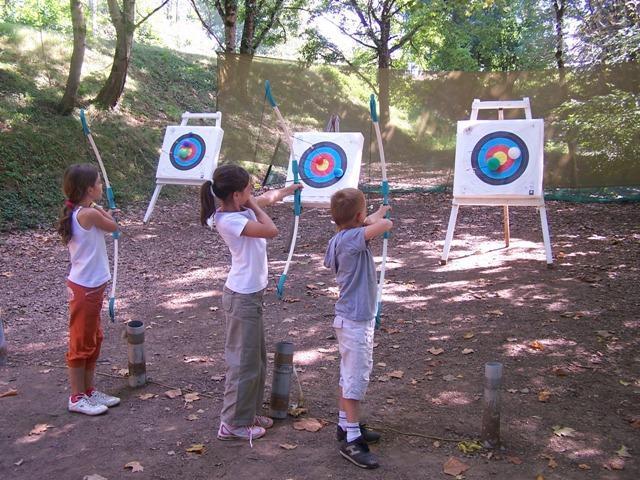 Activités sportives - tir à l'arc